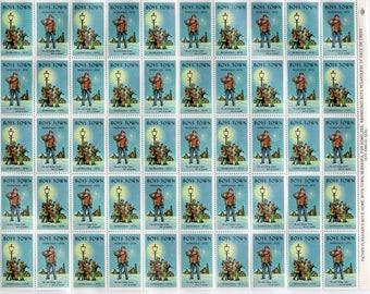Boys Town  Seals - Vintage (Non-Postal) - 1970 -  2 Full Sheets (100)