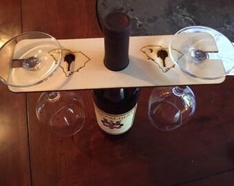 2 Glass wine Holder