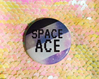Space Ace Button