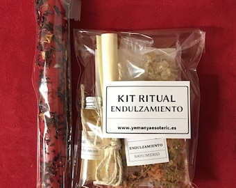 "Ritual KIT ""sweetening"" with instructions I wicca I spell i witchcraft I spells i witchcrafts I witches I rituals I"