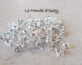 50 Ong silver 1 - 1.5 mm ball chain