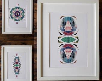 Set of 3 prints in Premium quality