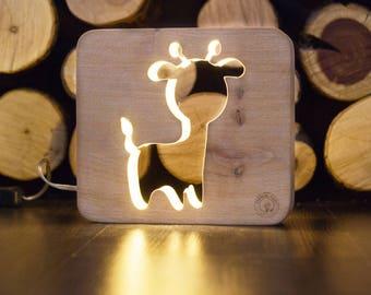 nightlights for children giraffe night light lamp baby table lamps for bedroom hildrens - Giraffe Lamp