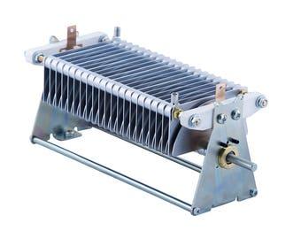 Air variable capacitor 27 - 315 pF, 3.1 kV