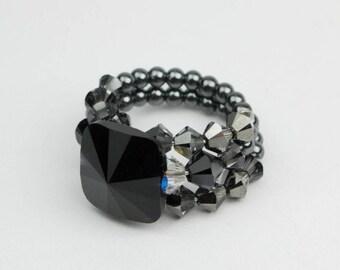 Ring by Swarovski kristal
