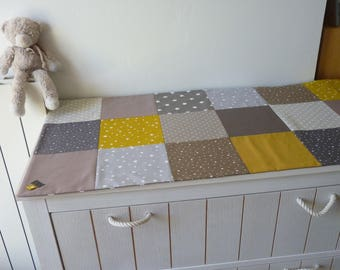 Patchwork table runner / / decoration idea