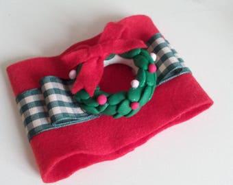 napkin rings for Christmas gift idea