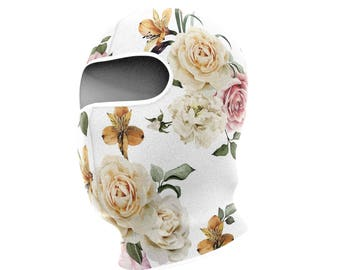 White Roses Balaclava