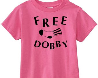 "Harry Potter Toddler ""Free Dobby"" Shirt"