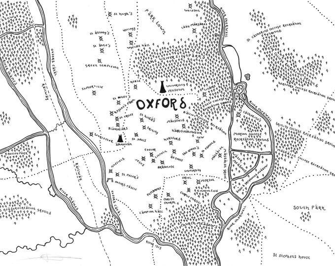 Oxford - Giclée Print