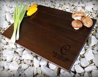 Christmas Gift, Custom Cutting Board, Personalized Cutting Board, Engraved Cutting Board, Wedding Gift, Anniversary Gift, Housewarming Gift