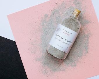 Charcoal + Grapefruit Fizzy Bath Soak
