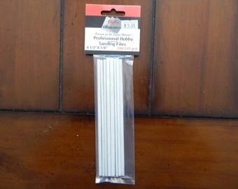 Flex-I-File #0307 - 12 Sanding file sticks (240/320 grit)