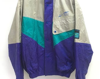 Vintage Wizard Fishing Gear Multicolour Jacket Size L