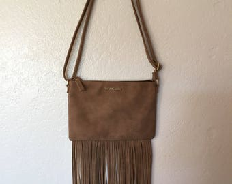 Victoria's Secret Fringed Bag Purse Like New Free Shipping
