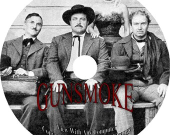 473 Episodes on 2 DVD's GUNSMOKE Old Time Radio Show Western