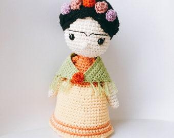 Amigurumi Frida Kahlo : Frida kahlo amigurumi