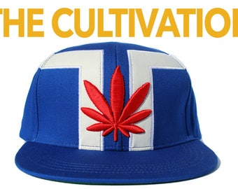 The Cultivation Crown | dopeIDeas Inc. | Limited Edition Designer Vegan Weed Snapback