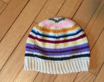 Striped Beanie- CHILD