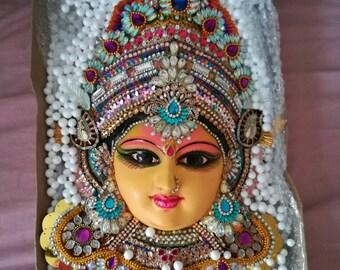 The beautiful goddess/laxmi devi/lakshmi devi/mahalakshmi
