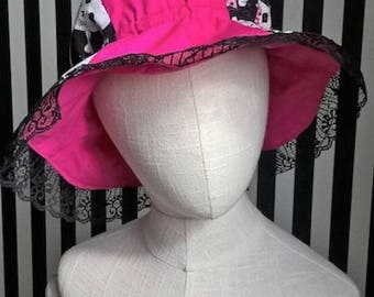 Goth Rose Lulupidoo Hat