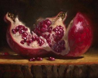 Opened Up #5 - Fine Art Giclee Print - Original Oil Painting - Still Life - Kitchen Decor