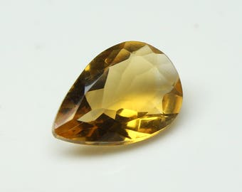 AAA Amazing Natural Citrine Faceted Cut With Nice Cutting Size=9x13x5 MM Citrine Code=CT21