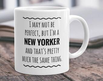 New Yorker Mug New York Gifts New York City NYC Mug New Yorker Gifts NYC Gifts I Love Nyc New York Mug NYC Pride New York Mom New York Dad
