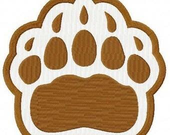 Brown Bears alternative logo machine embroidery design