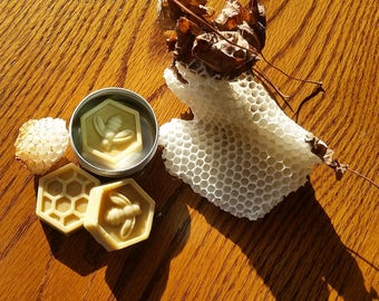 15% OFF Sale: Very Moisturizing Spearmint Foot Butter Bar.  Handmade with beeswax, and all natural ingredients