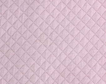 Quilted FRANCE DUVAL-STALLA pink Jersey fabric