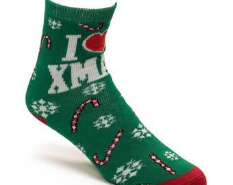 I Love X-Mas Socks