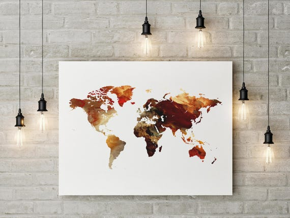 World map world map poster world map art travel map large te gusta este artculo gumiabroncs Image collections