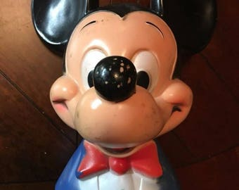1970's Mickey Mouse Bank