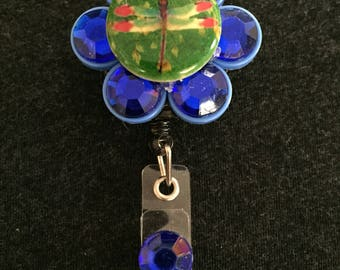 Dragonfly Medicine Cap Badge Reel