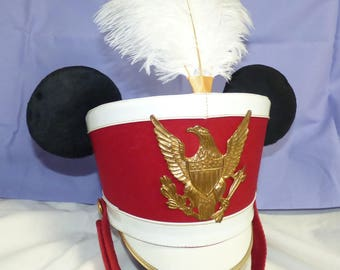 Marching Band Mickey ears hat, real Vintage Ostwald Band Hat