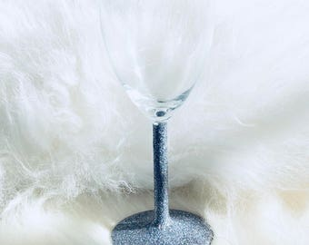 GLITTER DIPPED | Wine Glass