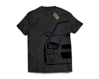 Subaru Frontend - Porsche, Sports Car T-Shirt, Classic Sports Car, Gift For Car Lover, Honda, Nissan, Toyota, VW, Audi, Mazda, BMW