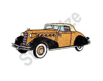 Car - Machine Embroidery Design, Classic Car, 1934 La Saue