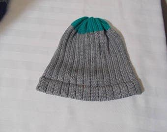 Knitted Men's winter hat