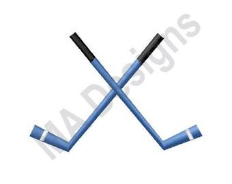 Hockey Sticks - Machine Embroidery Design