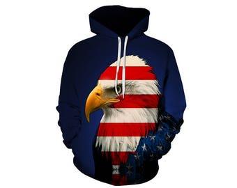 Eagle Hoodie, Eagle, Eagle Hoodies, Animal Prints, Animal Hoodie, Animal Hoodies, Eagles, Hoodie, 3d Hoodie, 3d Hoodies, Usa Hoodie Style 10