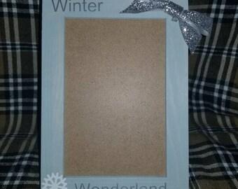 4x6 Winter Wonderland Photo Frame