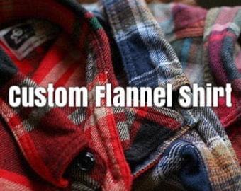 Soft Custom Flannel Shirt