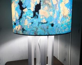 LAMPADA DA MARE, abat-jour , lampada da comodino, lampada artistica, lampada fatta a mano, lampada unica, lampada di design, lampada da como