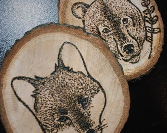 Woodland Creatures Home Decor