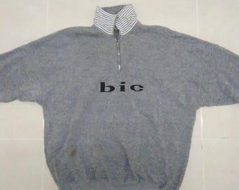 Vintage Bic Popboy..sweatshirt..pillippine product..comfort