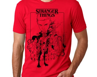 Stranger Things Art T Shirt