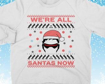 Pouts Not Sprouts Funny Joke Print Ladies Xmas Christmas