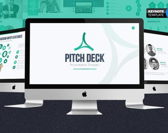 Pitch Deck Business Keynote Template